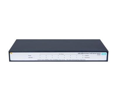 Коммутатор HPE 1420 8G PoE+ (64W) JH330A