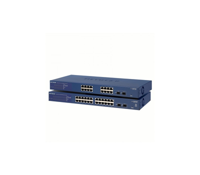 Коммутатор 16 port Netgear GS716T-300EUS, 2хGigabit Ethernet SFP