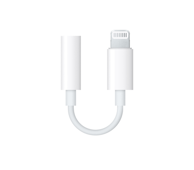 Адаптер Apple Lightning/Jack 3,5 мм MMX62ZM/A
